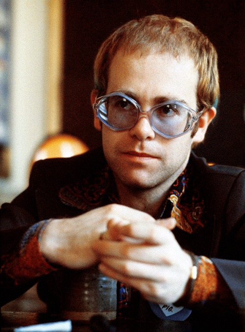 Elton John 1973 when I met him