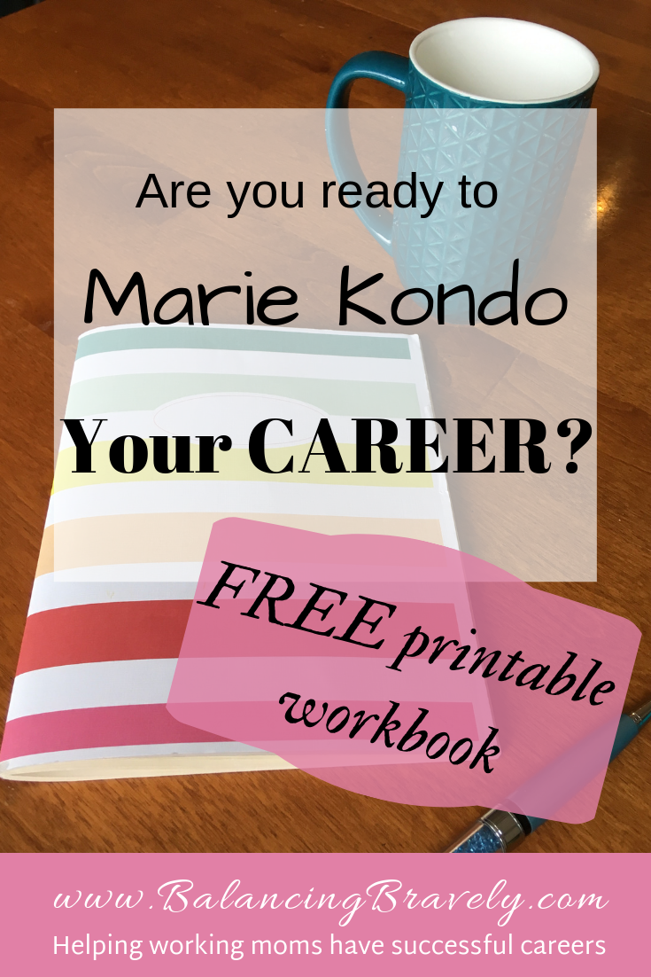 5 steps to marie kondo your career