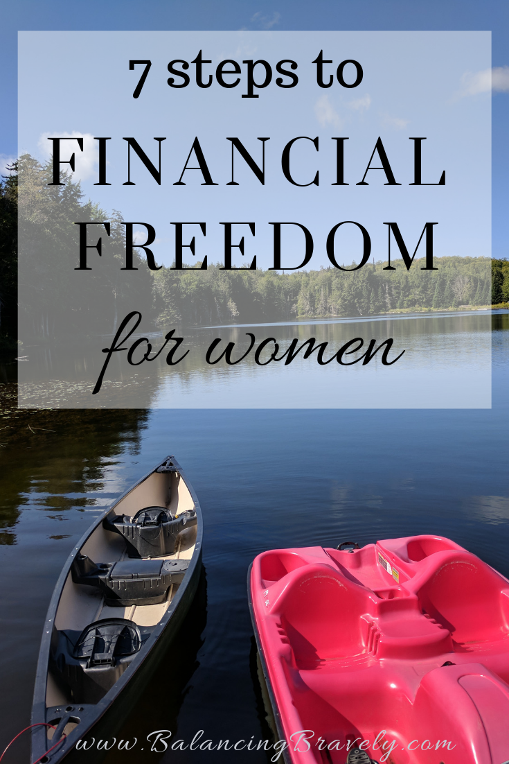 7 steps to financial freedom for women