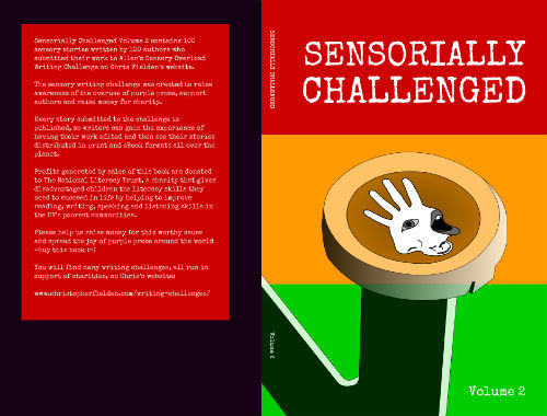 The cover and blurb for Sensorially Challenged Volume Two