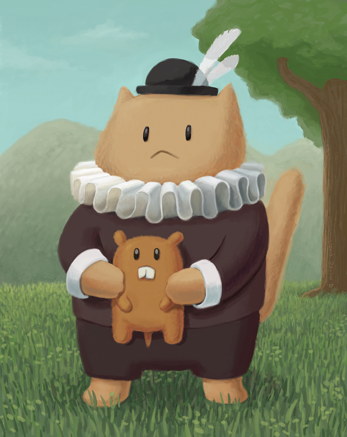 Small Lord George and His Vole