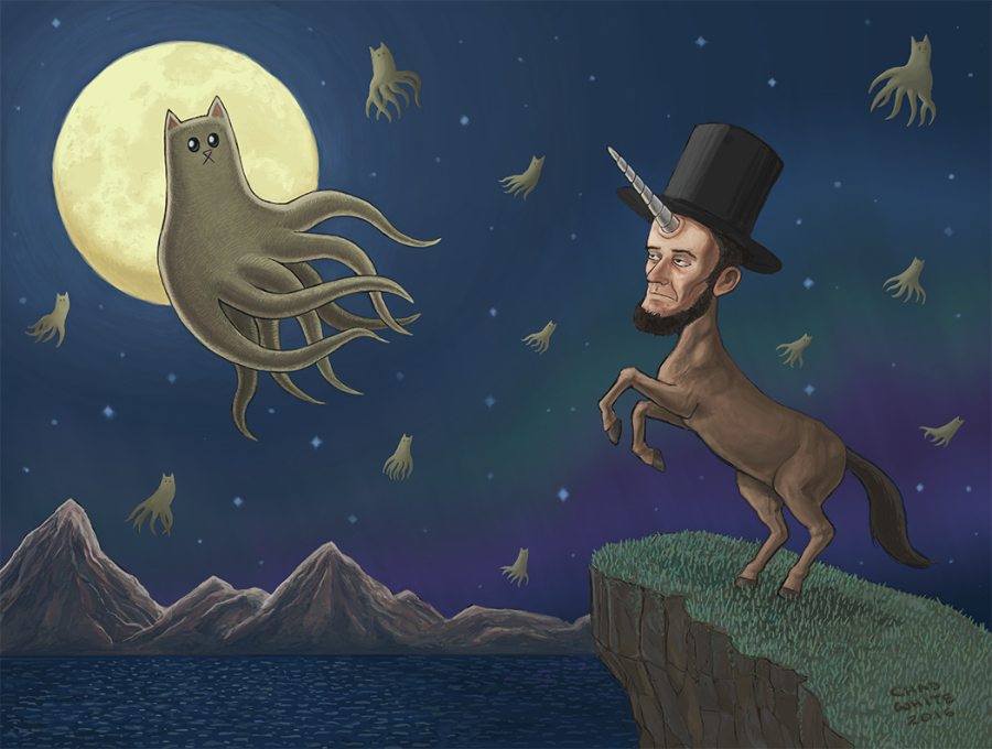 Lincoln-Horse and Octo-Kitty
