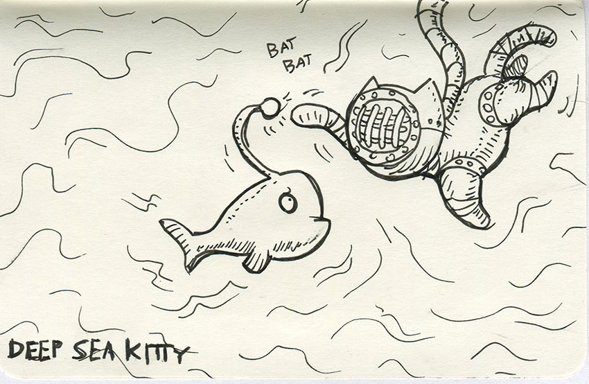 Deep Sea Kitty