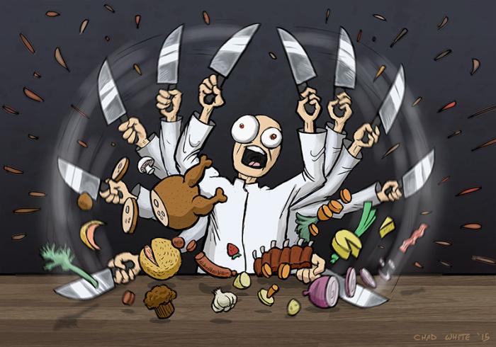 Chef Attack