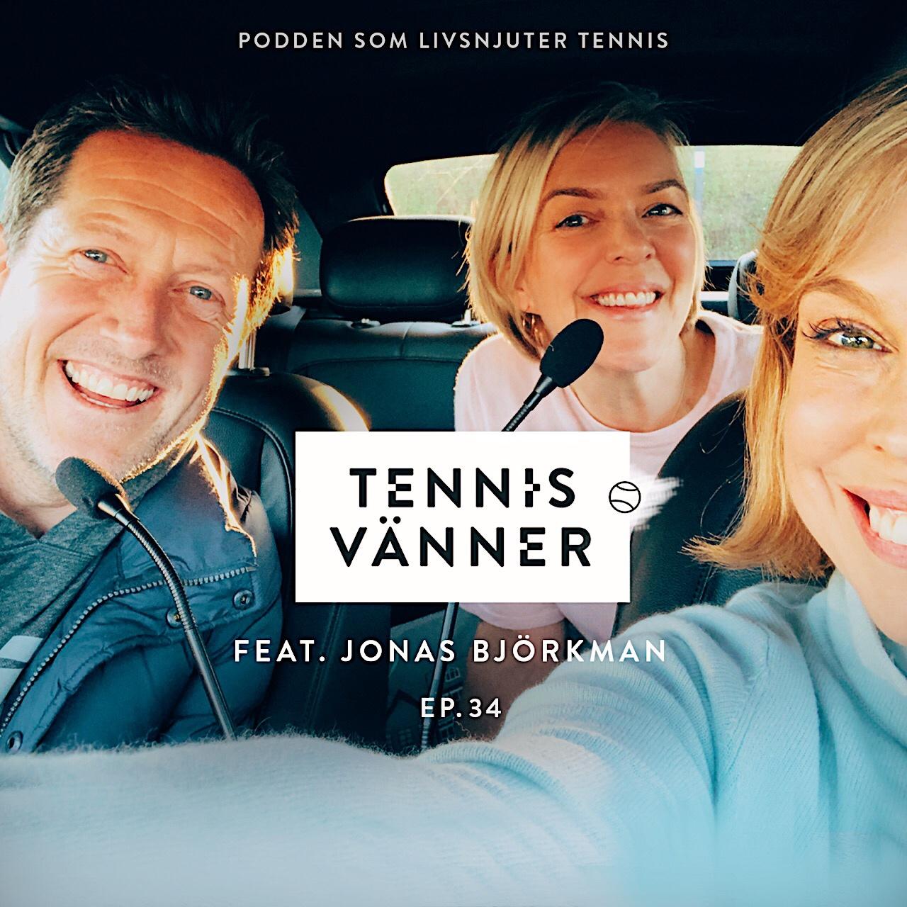 Avsnitt 34. På volley / Feat. Jonas Björkman - Lång och kort version. Tryck Play/Listen in browser på ljudfilen nedan