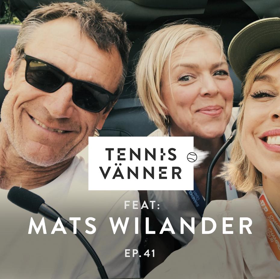 # 41. Feat: Mats Wilander - Tryck play på ljudfilen nedan ↓
