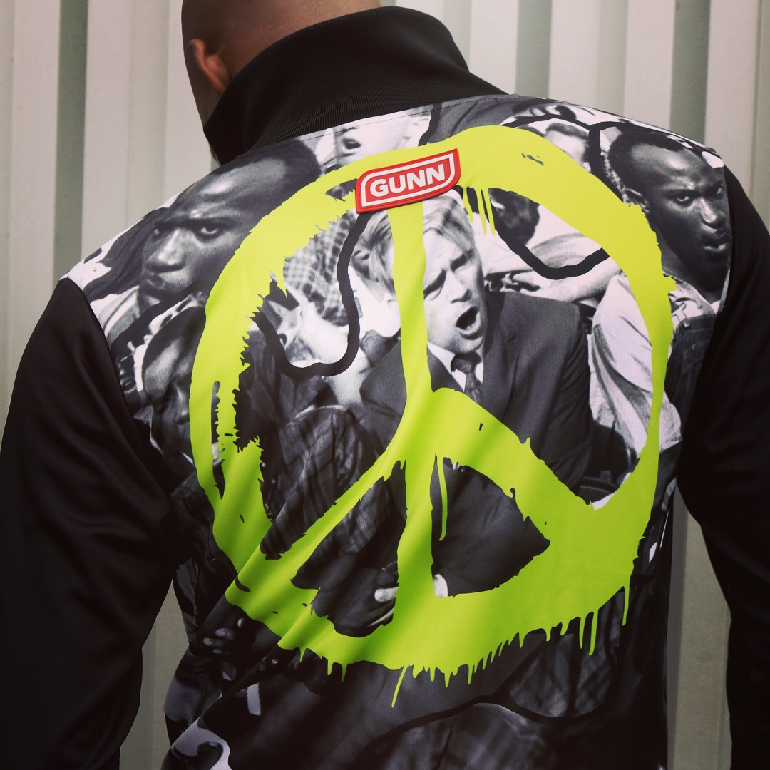 GUNN x Freedom jacket peace