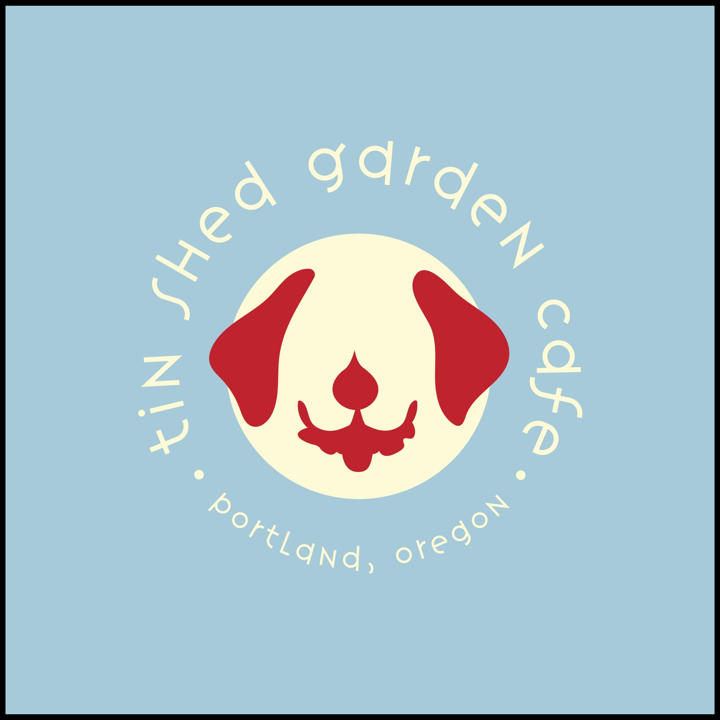 Tin Shed Garden Cafe Branding Summer Bockart