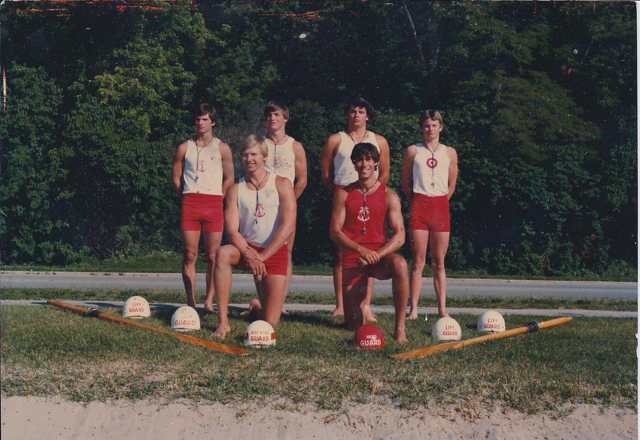 Lifeguard crew, 1979