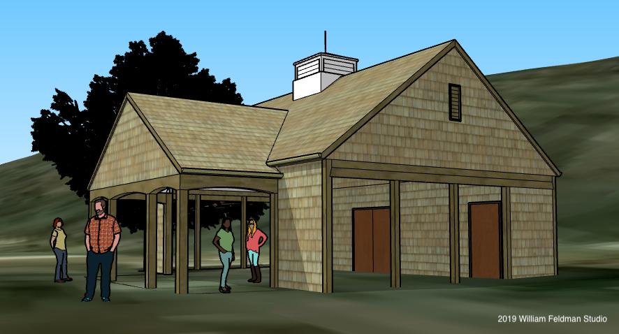 Future renovated open pavilion