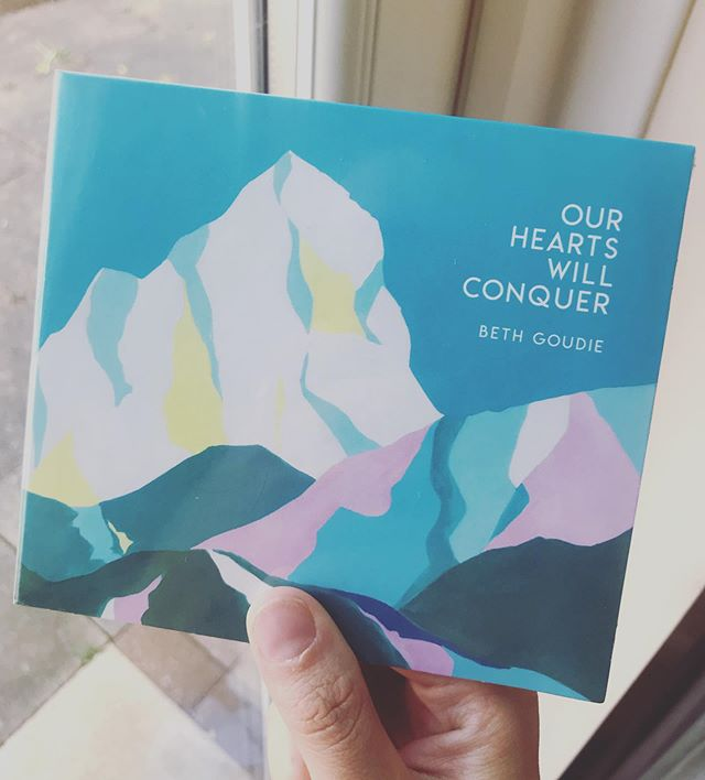 Hey, did you hear that I released an album 4 weeks ago today!? Do you have your copy yet?  You can buy one from my website and I'll post it to you this week! Hooray! (link in bio)  #album #cd #postie #newmusic #ourheartswillconquer