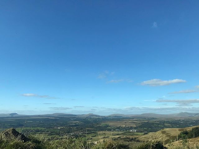 The Rhigos Viewpoint. A familiar sight, but it never gets old.  Loved being back in Wales this week ♥️ 🏴 #rhigosviewpoint #wales