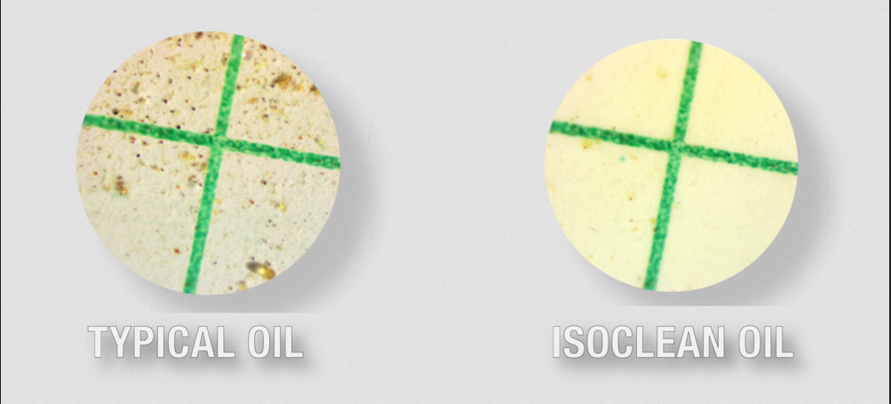 Typical Oil vs ISOCLEAN Oil  PNG Image  1000×675 pixels .png