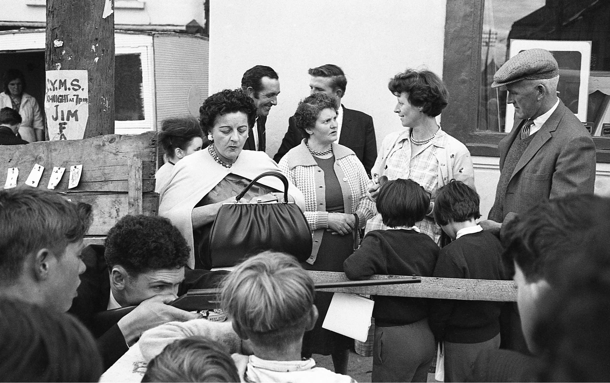 1965 – Puck Fair   Courtesy of the Estate of John Goldblatt