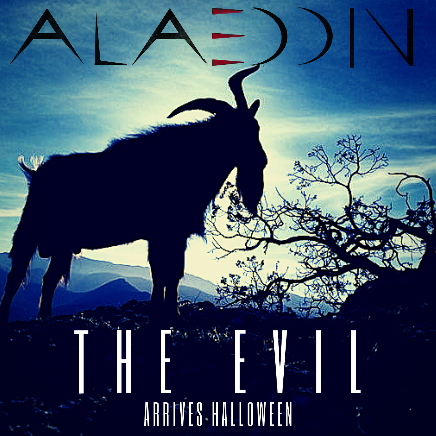 """The Evil"" the new single, out on Halloween"