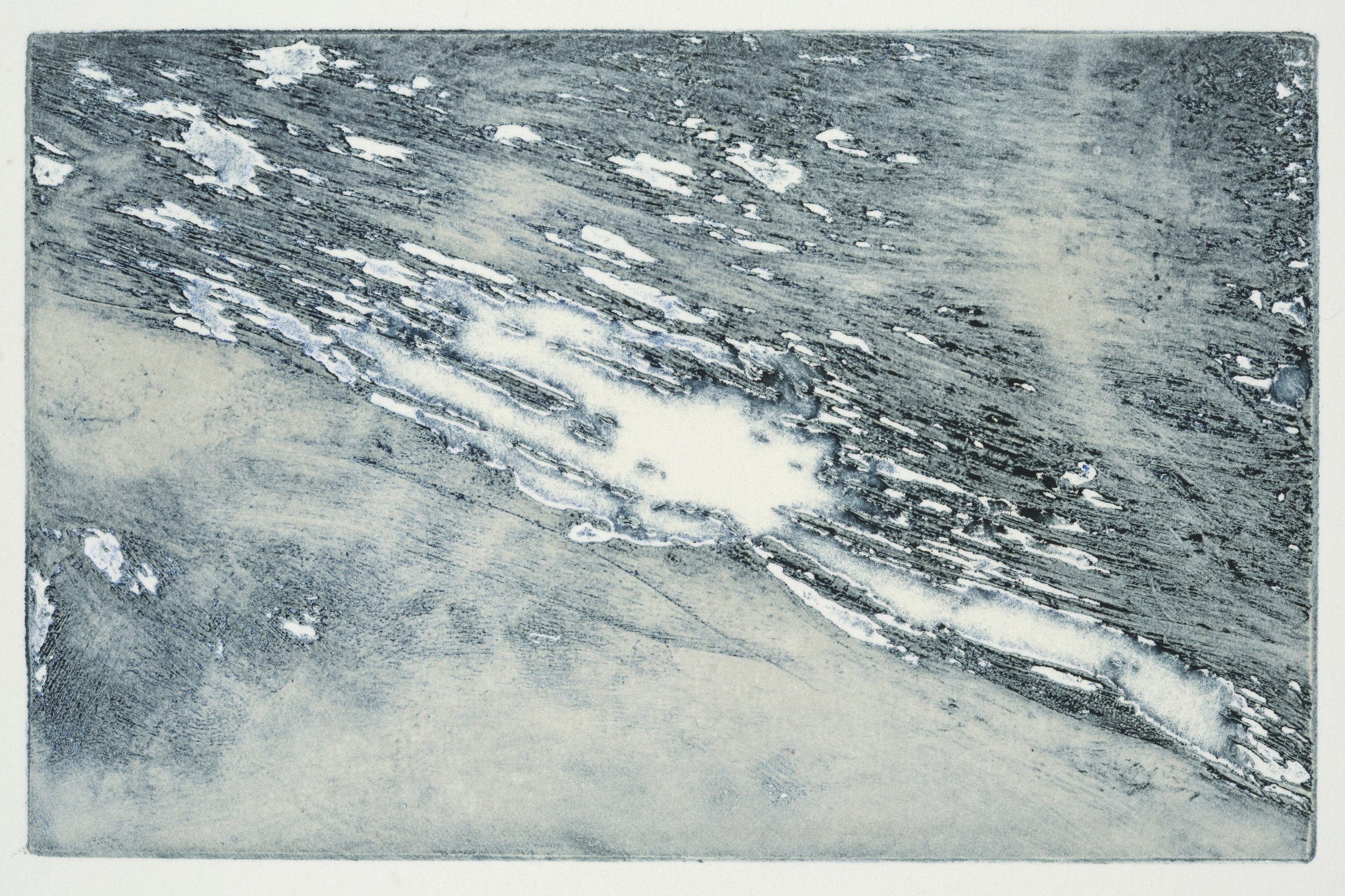 "Ice   Solarplate Etching (4x6"")"