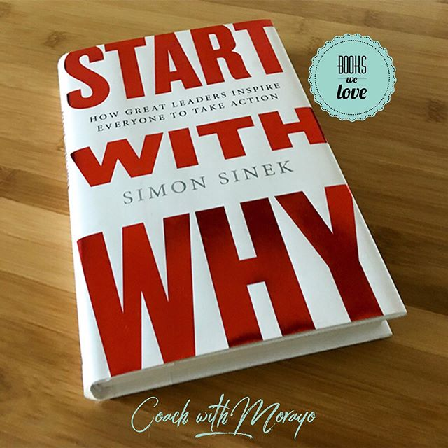 One of my faves😍! This was such a great TED talk find. I was surprised at how much it changed the way that I do so many things in life! . . This book is based on the idea that it doesn't really matter WHAT you do, but it matters WHY you do it. . . In this simple but powerful model for inspirational leadership, Simon introduces the Golden Circle and the WHY and reveals that the leaders who inspire all seem to think and act in the exact same way. . . Mostly what I love about this book is that it inspires people to do the things that actually inspire them. . . . #bookswelove #leadersarereaders #whatareyoureading #coachwithmorayo #selfawareness #coaching #stresscoach #burnoutcoach #leadershipcoach #coach #freedomstrategist #selfcare #executivecoach #executivecoaching #businesscoaching #personaldevelopment #growthmindset #empowerment #personalgrowth #growth #interventionist #raisingconsciousness #selfimprovement #coachinglife #energymatters #corporatewellness #professionaldevelopment #coachingworks #leadership