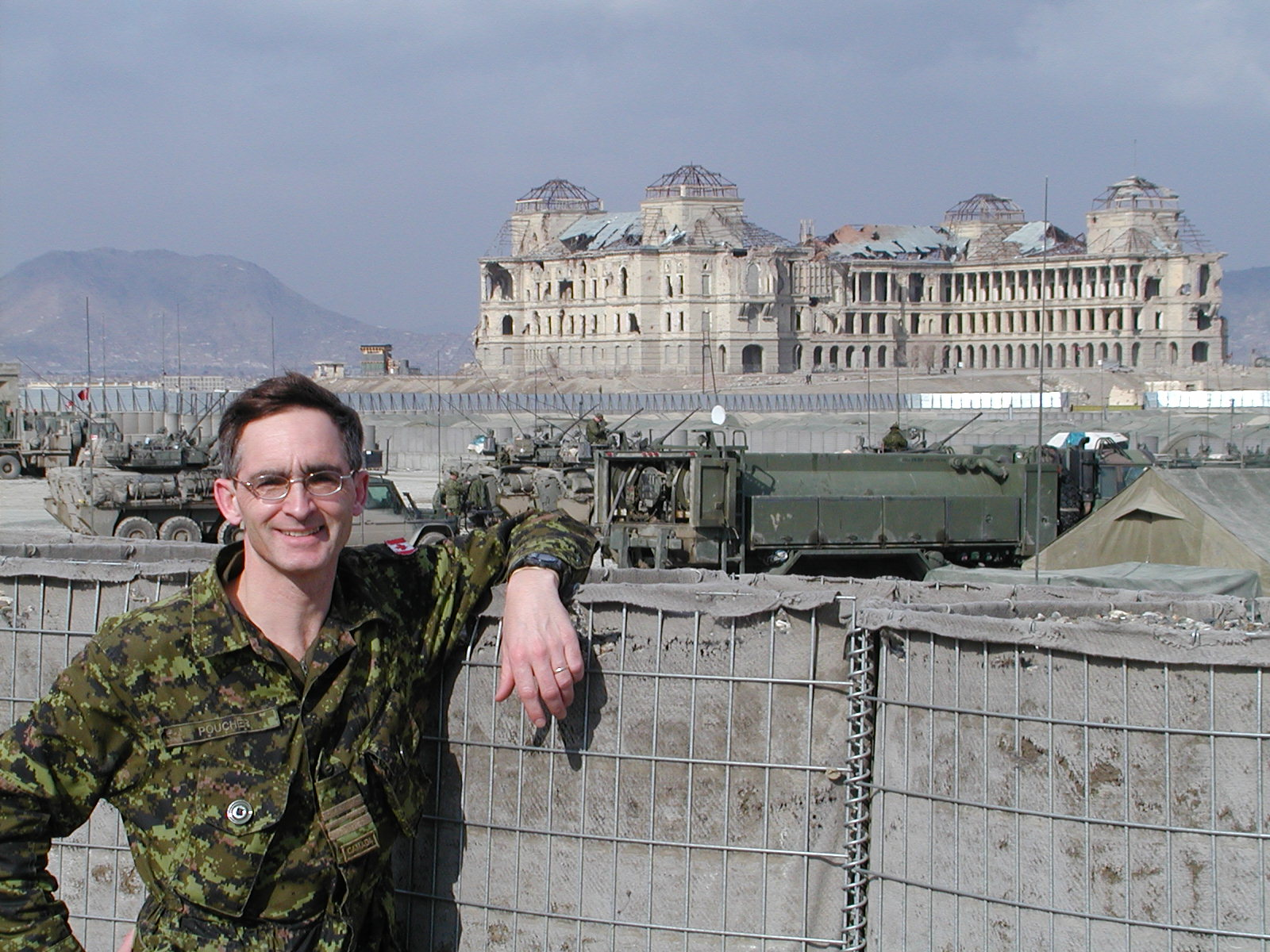 doug in afghanistan during one of six technical assistance visits to kabul and kandahar