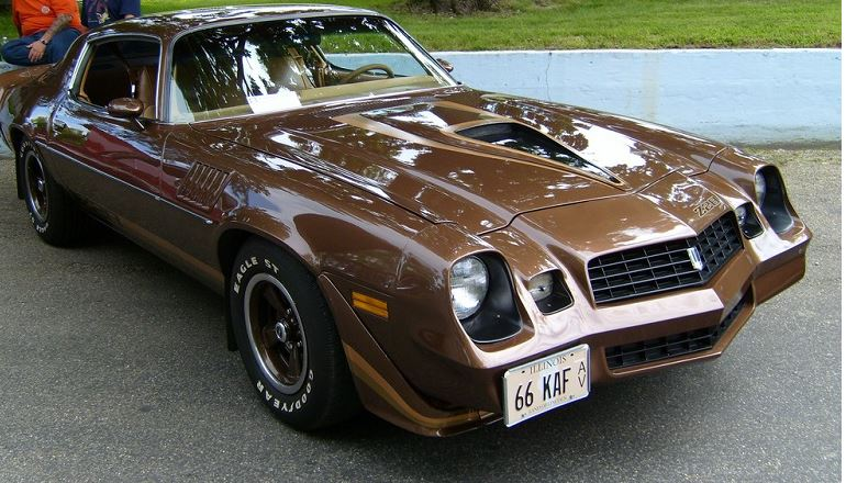 Dude, where's my car? apparently in illinois! actually ray was very proud of his 1978 z-28 camAro and had a very nostalgic moment when he came across this almost exact replica of his beloved car many years later