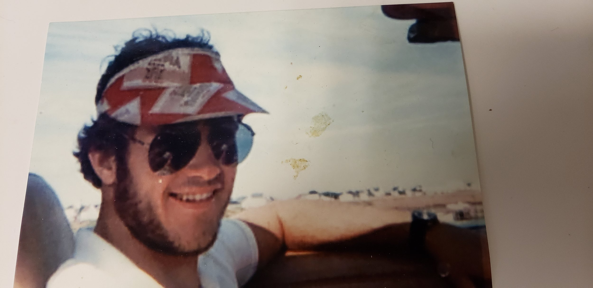 RAY IN BETWEEN THIRD AND FOURTH YEAR DRIVING HIS CAMARO IN CAVENDISH BEACH PEI