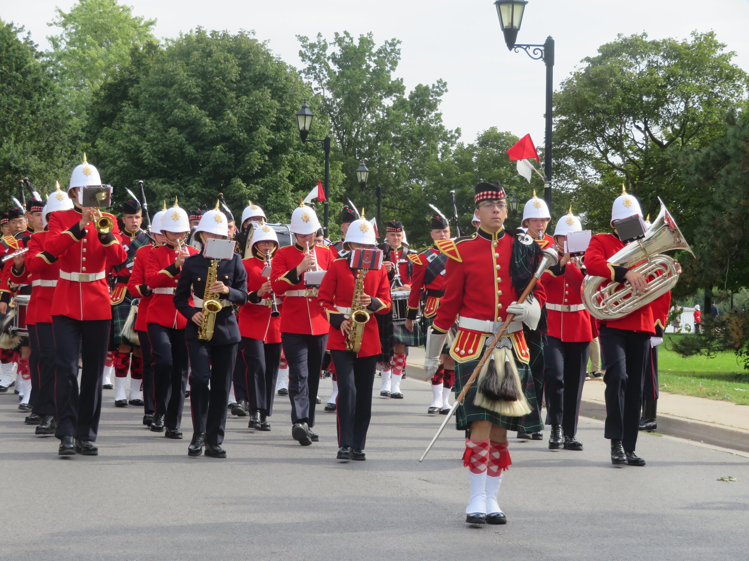 Arch March to Arch Band.JPG