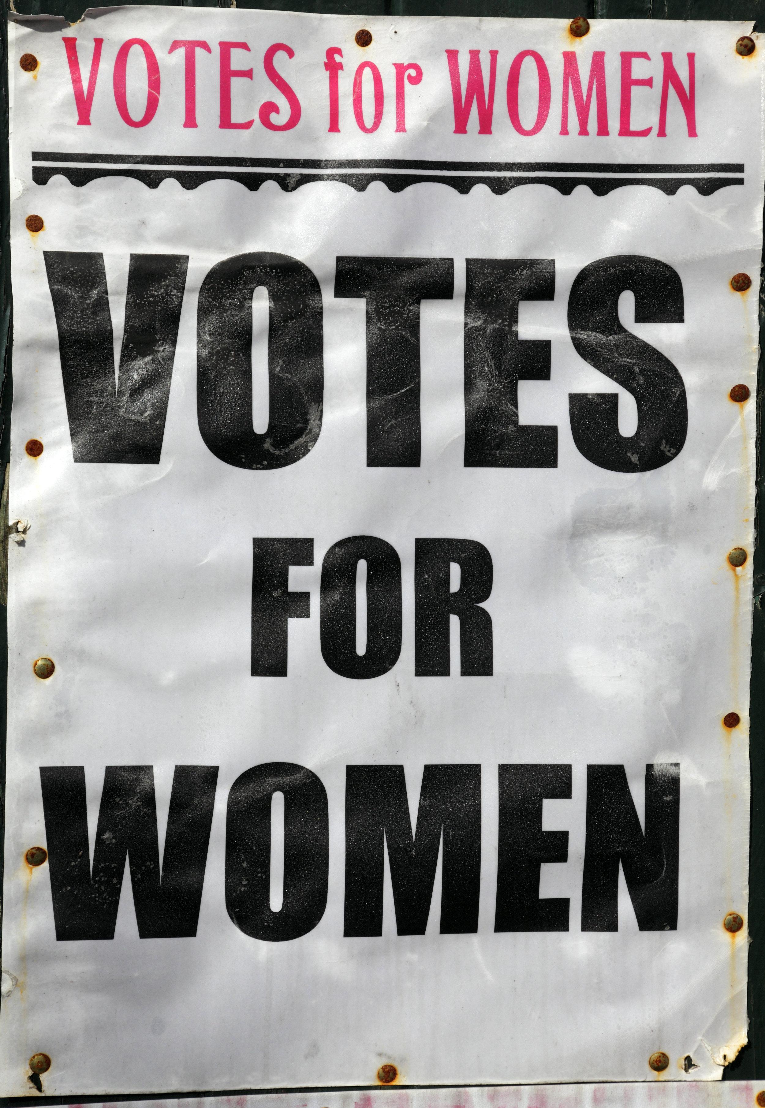Votes for Women sign.jpg