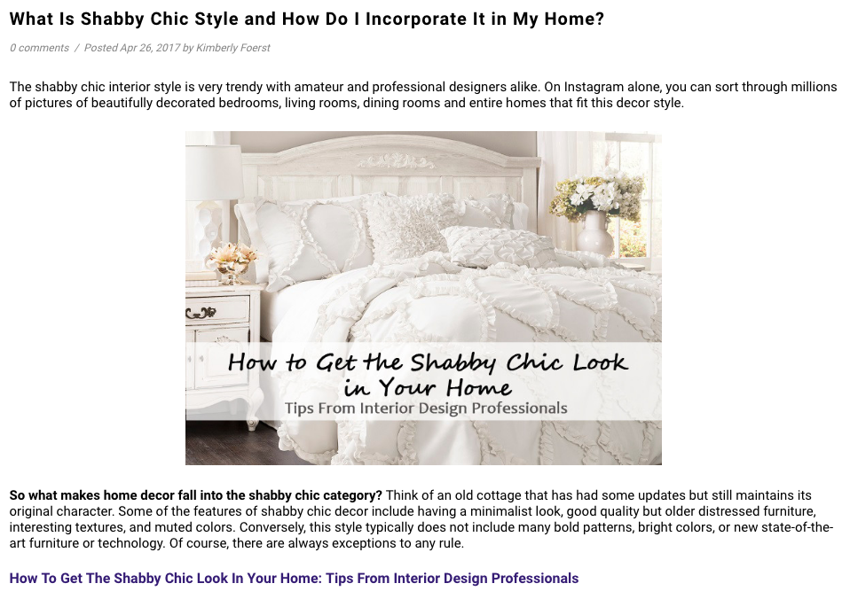 What is shabby chic via Lush Decor dvd interior design feature march 2017.png