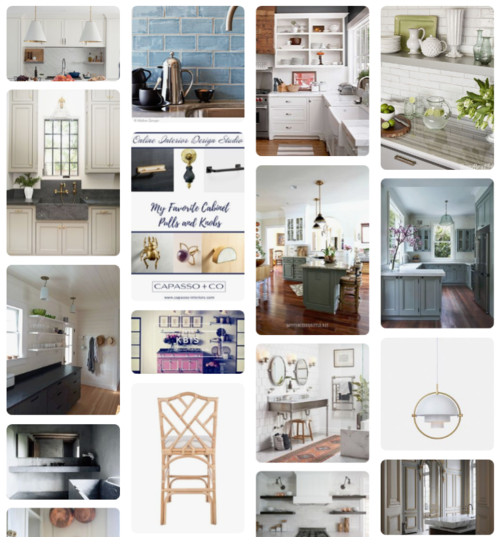 interior design sample board template design