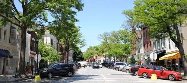 Greenwich, CT Town Center, Greenwich Avenue