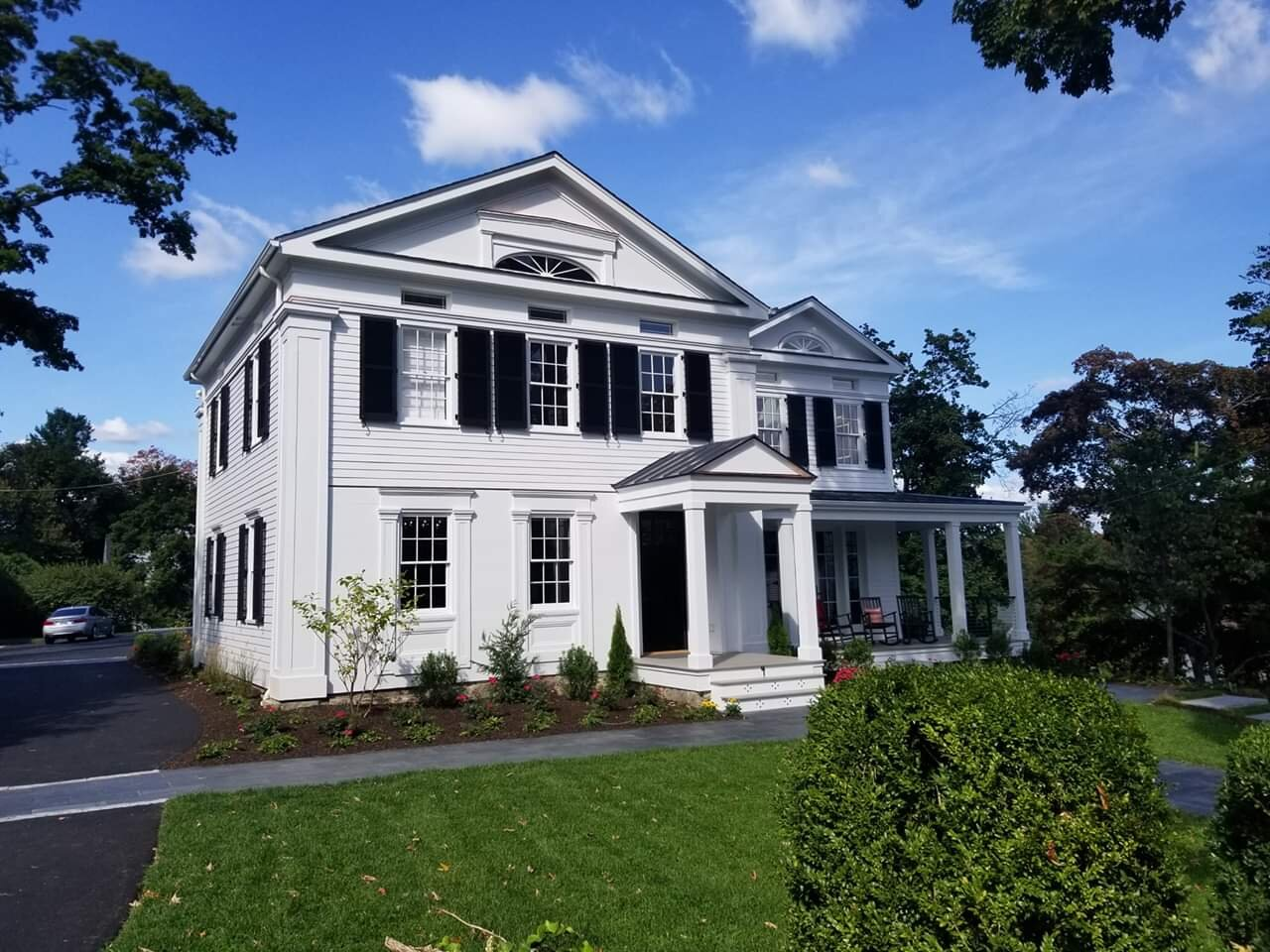 4 main street new canaan CT TOH ideas house greek revivalThis Old House 2019 Idea House TOH 2018 Idea House. TOH Idea Houses ... Have a Look Inside the 2019 Idea House New Canaan CT TOH ideas house greek revival #toh2019ideahouse #thisoldhouse #toh stickley furniture uttermost toh new canaan CT