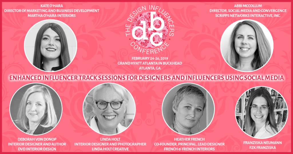 Influencer-Track-Session dvd interior design linda holt french and french kate ohara