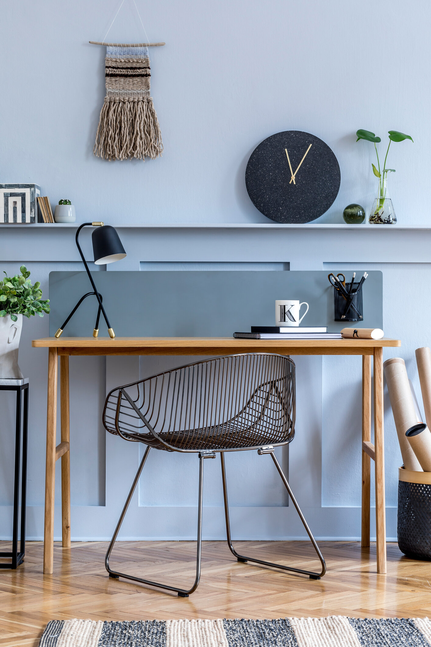 Home Office Paint Colors Designers Use Again And Again Dvd Interior Design