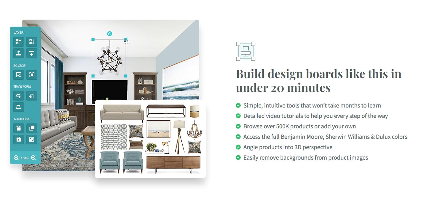 15 Applications For Making Digital Mood Boards Dvd Interior Design
