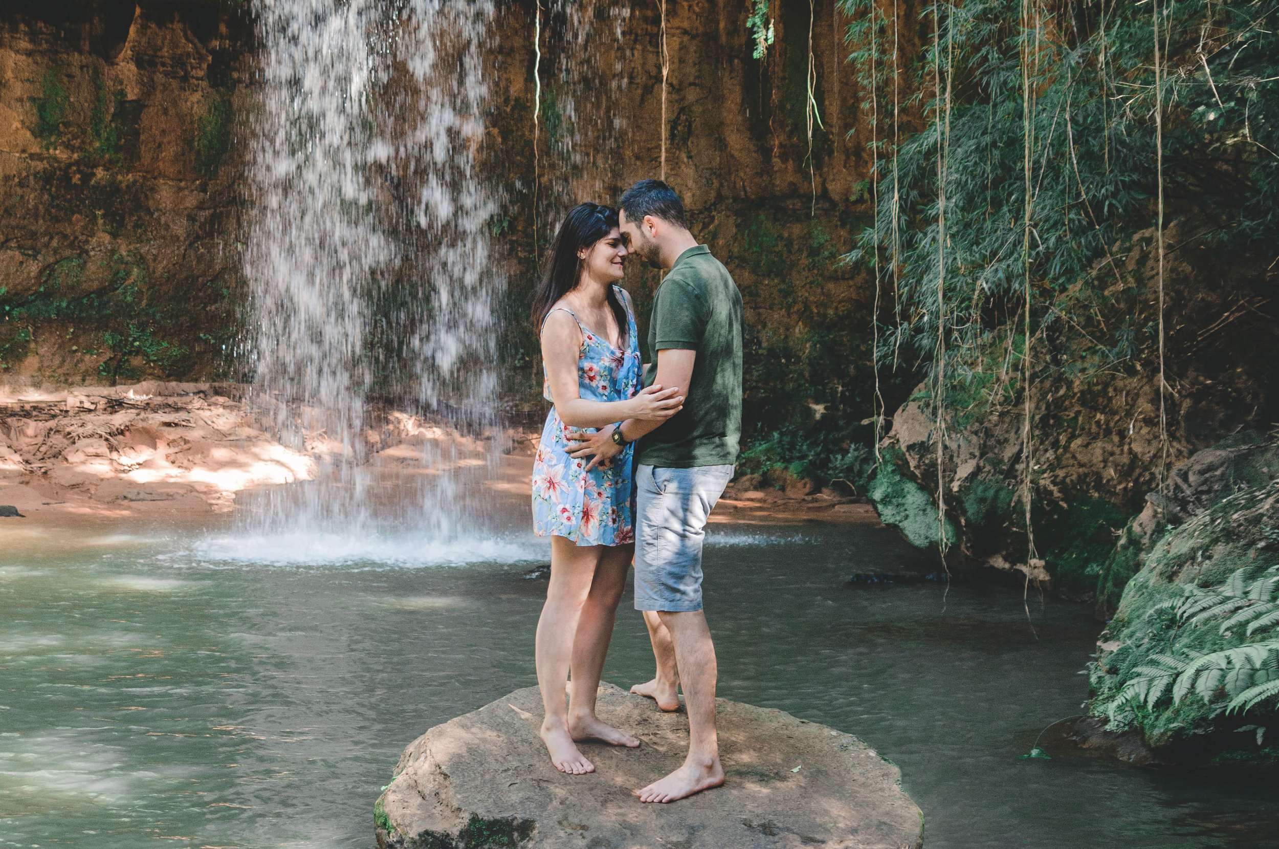 Destination wedding adventure photographer Iceland Hawaii Brazil waterfall David and Gabriela (11).jpg