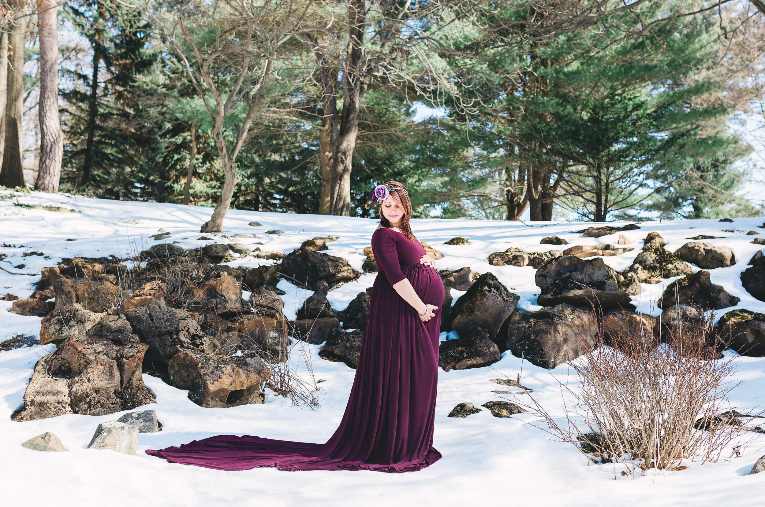 Johnstown State College Pittsburgh PA maternity photos photographer (1).jpg