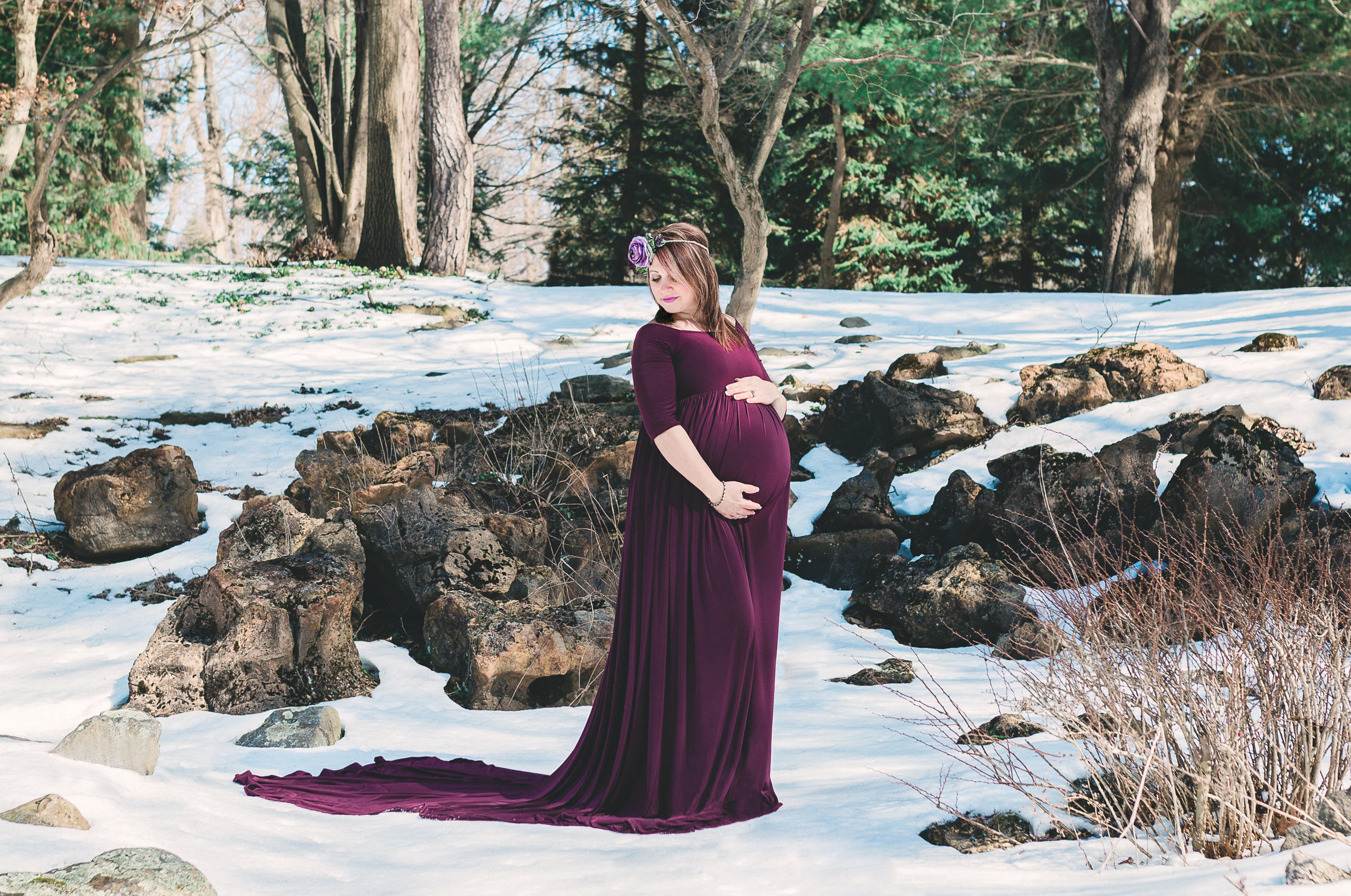 Johnstown State College Pittsburgh PA maternity photos photographer (4).jpg