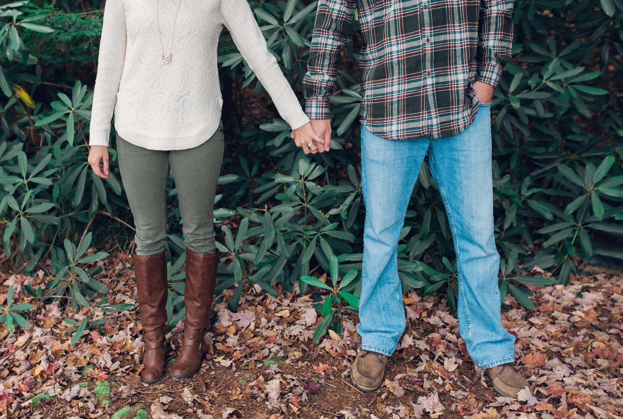 State College Harrisburg PA wedding photographer engagement woods campfire (8).jpg