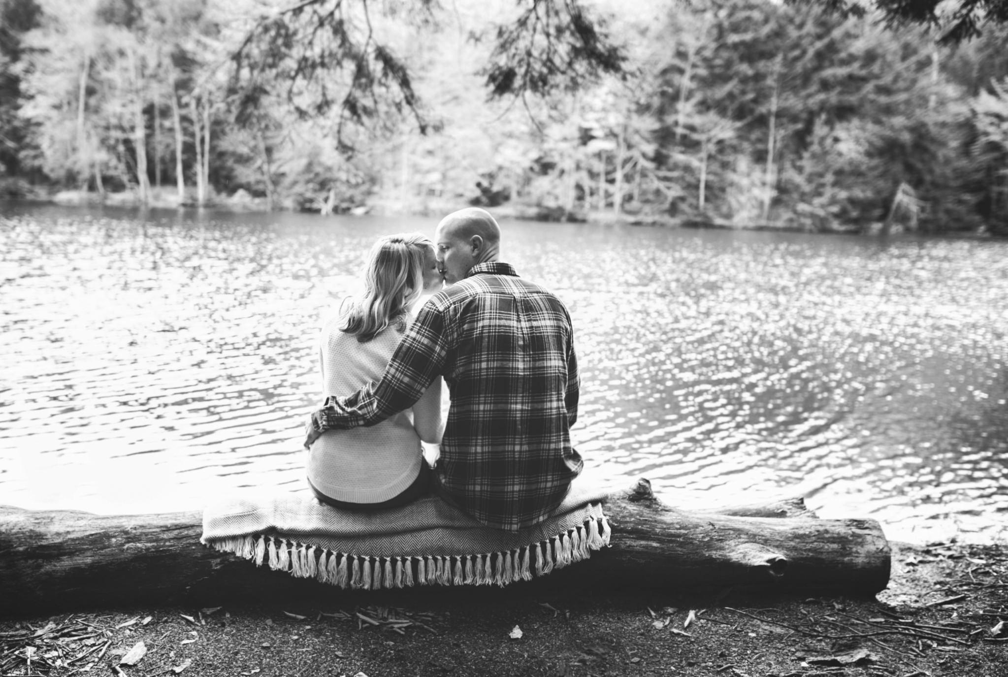 State College Harrisburg PA wedding photographer engagement woods campfire (22).jpg