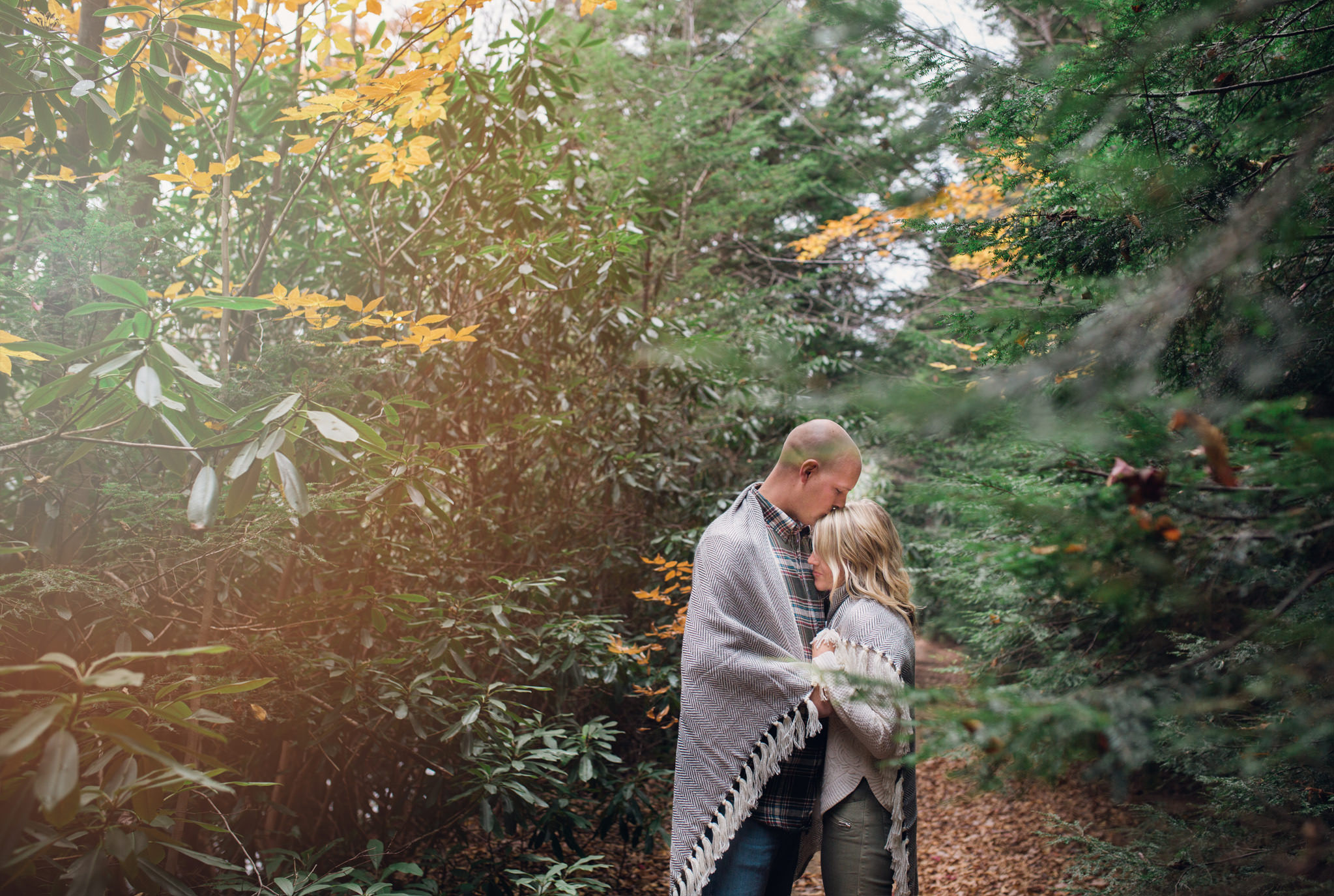 State College Harrisburg PA wedding photographer engagement woods campfire (38).jpg