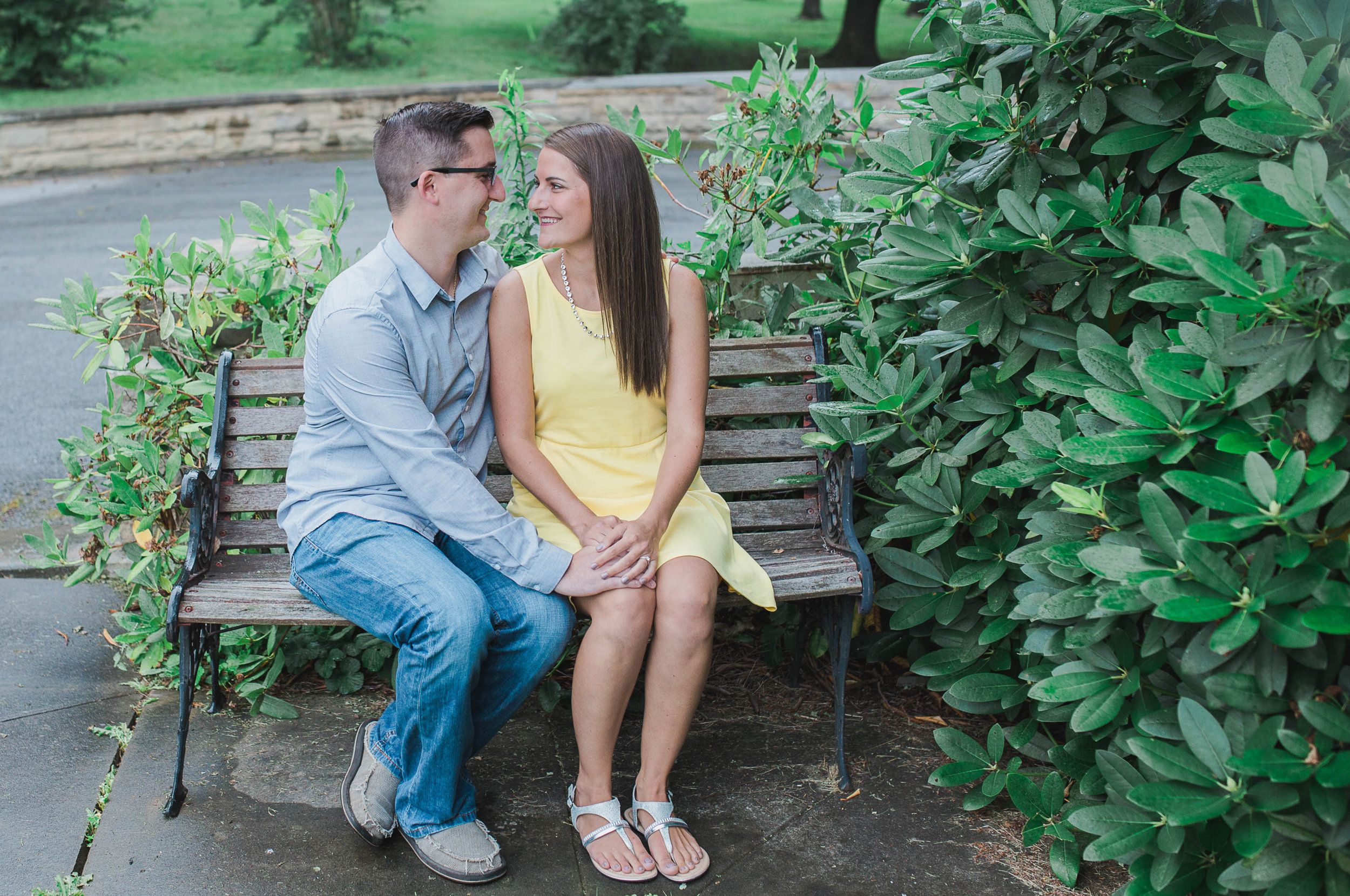 Johnstown Pittsburgh PA engagement session romantic rain couple portraits (4).jpg