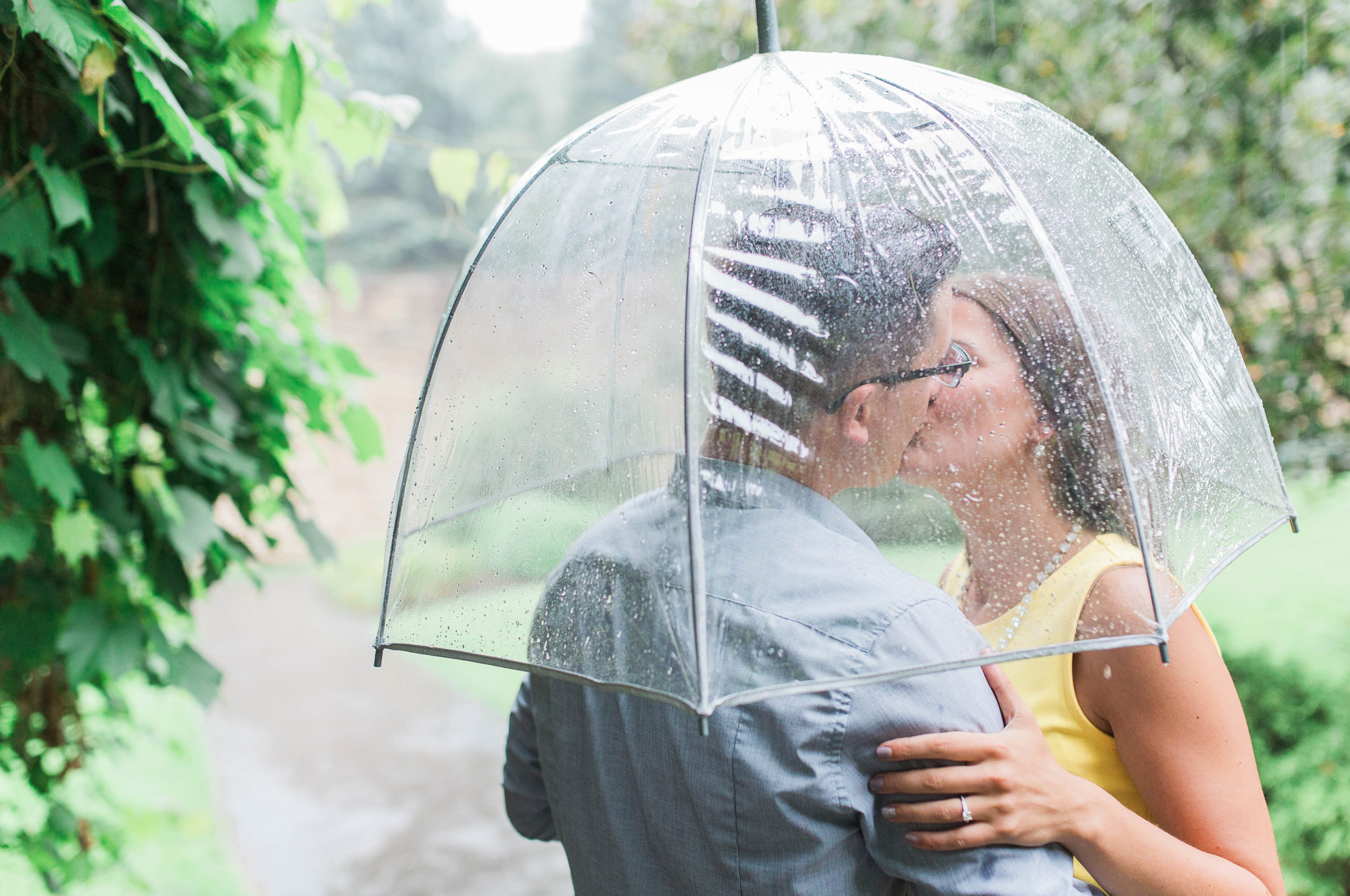 Johnstown Pittsburgh PA engagement session romantic rain couple portraits (15).jpg