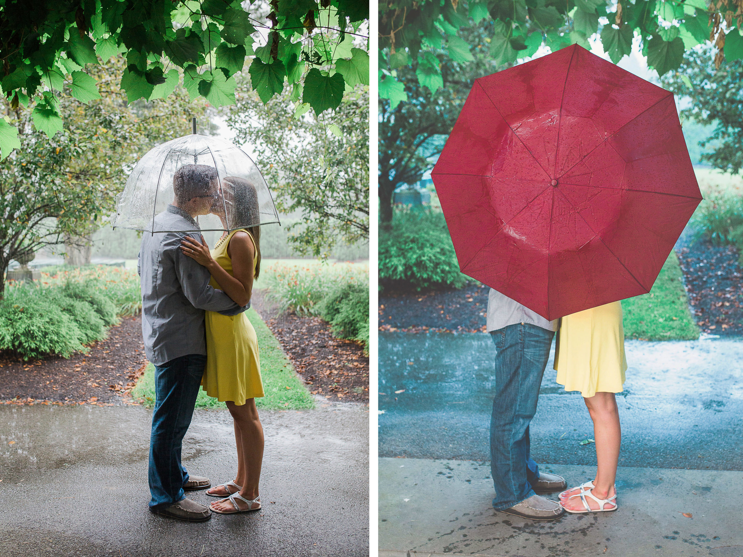 Johnstown Pittsburgh PA engagement session romantic rain couple portraits (16).jpg