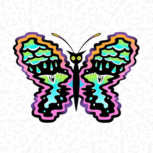 This butterfly is available. DM or email if you want it. 💜 🔻 🔻 🔻 For booking jessewayout@gmail.com . . . #jessewayout #seattletattooartist #seattletattooer #pnwtattoo #seattletattoo #seattletattoos #seattletattooshop #trueloveartgallery #queerowned @seattletattooers #contemporarytattoo #illustrativetattoo #txttoo #contemporarytattooing #tttism #poparttattoo