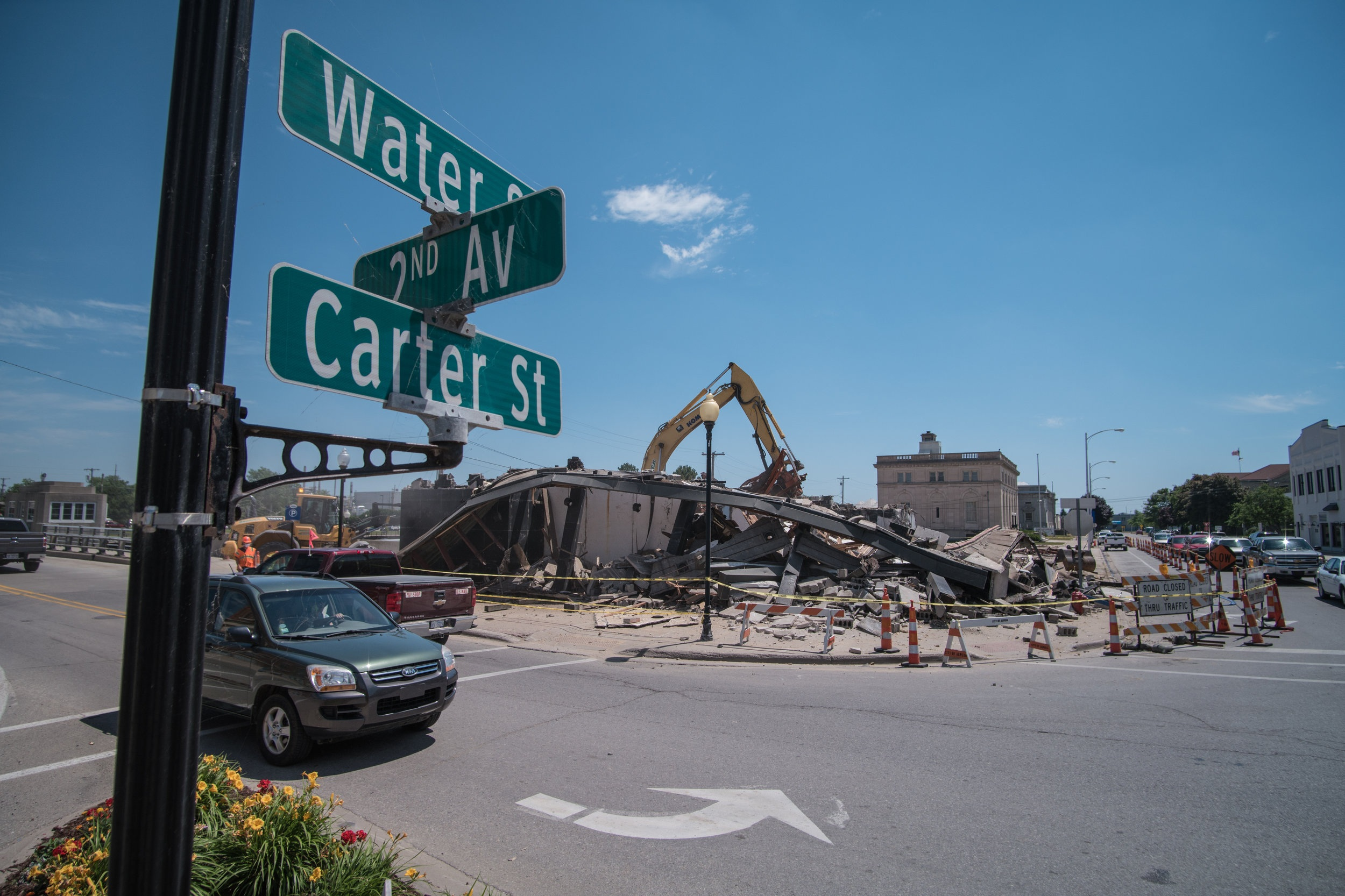 DEMOLITION - Take control of your property and reclaim usable space by investing in quality demolition services.
