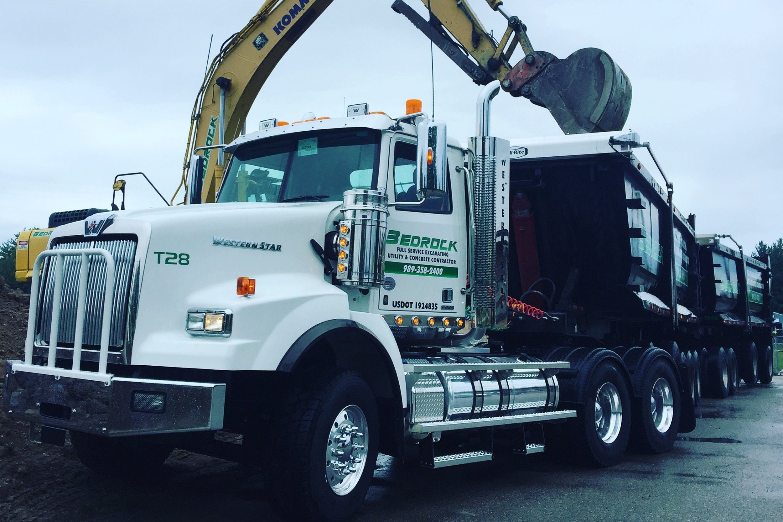 TRANSPORTATION SERVICES - Keep your project on schedule and ensure that you always have the materials you need!