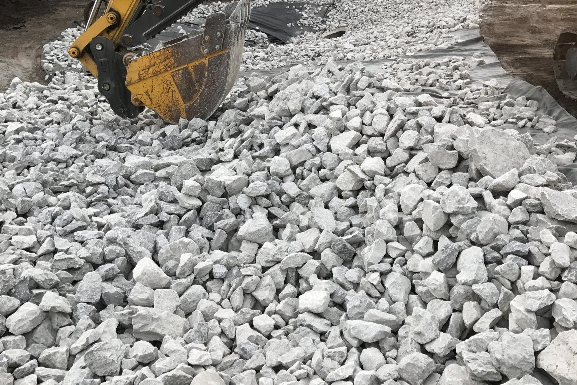 GRAVEL • SAND • TOPSOIL - When you're working on a construction or landscaping project, you don't want your supply of materials to slow you down.