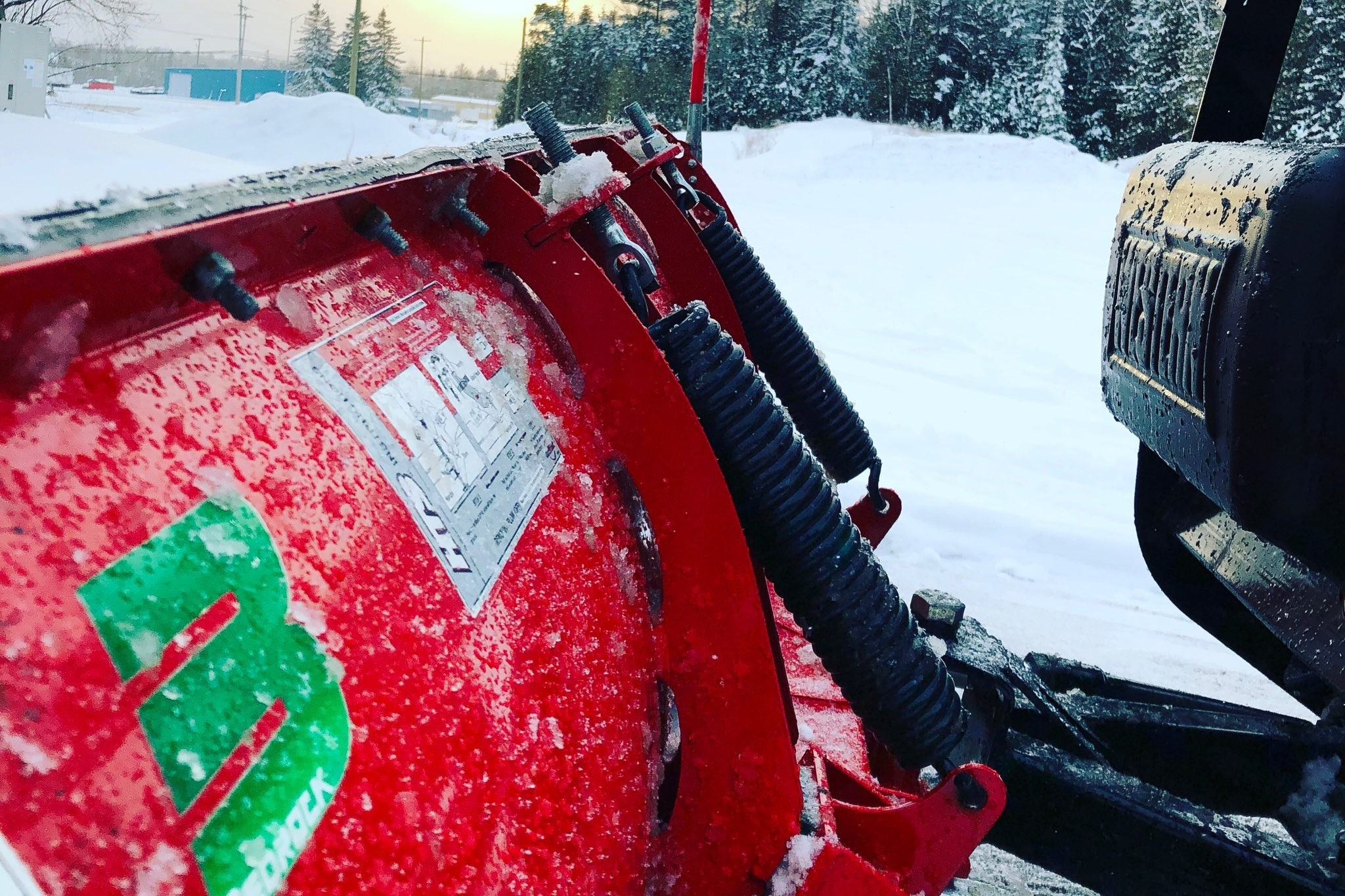 SNOW REMOVAL - We'll get rid of all the snow and ice from the most important outdoor spaces on your residential, commercial, or industrial property.