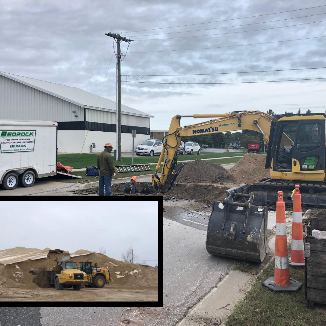 Put us to work on any type of property - No matter what kind of space you own, you can count on our extensive excavation services to help you keep things functional and comfortable. Trust us for all types and sizes of projects on all types and sizes of property!• Lot clearing & tree removal• Land development• Environmental excavation• Rock Excavation• Pond & retention pond installation• Road building, driveways, & parking lots• Site work & preparation• Restoration• And more!Bedrock Contracting & Excavating is your one-stop shop for excavation work