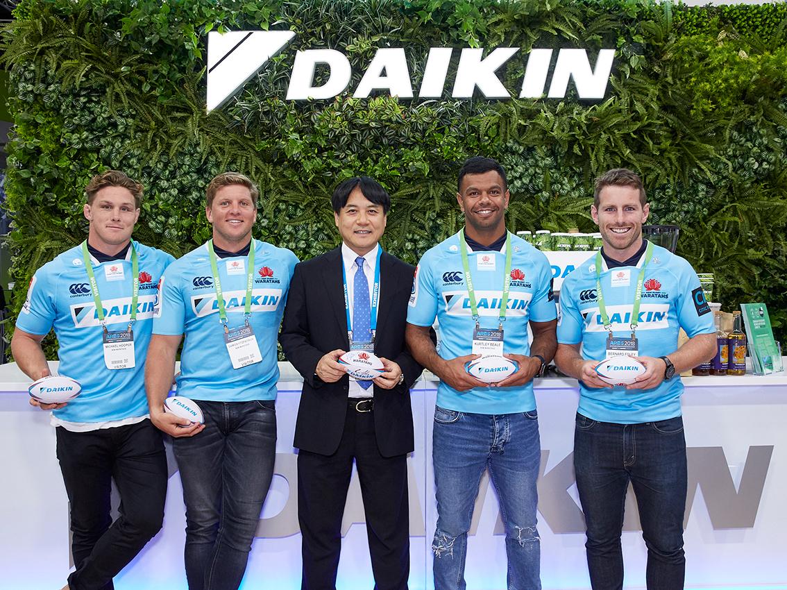 CEO DAIKIN Australia & The Warratahs