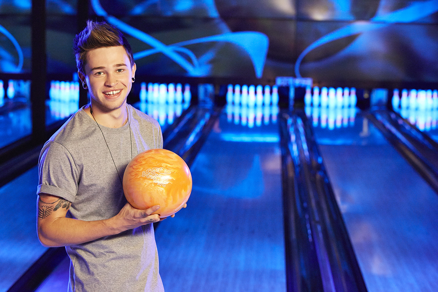 Reece Mastin for AMF Bowling